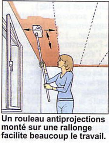 comment peindre un plafond. faons de grer peindre un plafond ... - Comment Peindre Un Plafond Au Rouleau