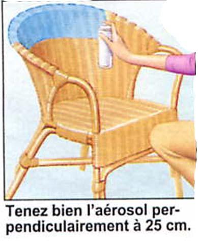 comment peindre un fauteuil en rotin - inspiration du blog